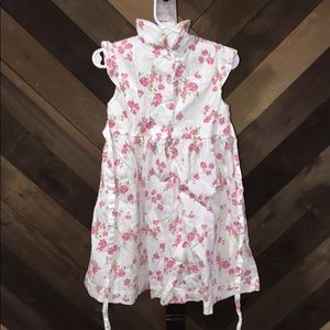Laura Ashley floral dress toddler 4